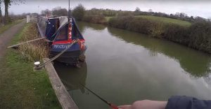 boats moored up on a canal are good areas to target for ambushing pike on lures